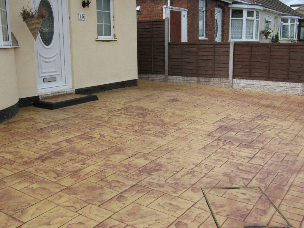 Pattern Imprinted Concrete Driveways | Asset Pavings Systems